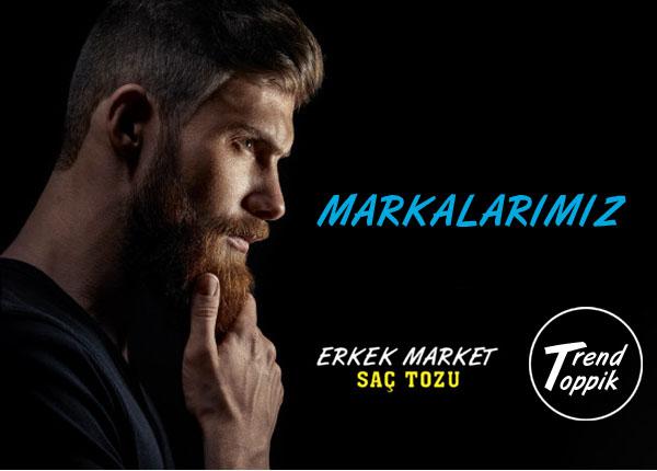 Erkek Market Saç Tozu ve Trend Toppik Saç Tozu